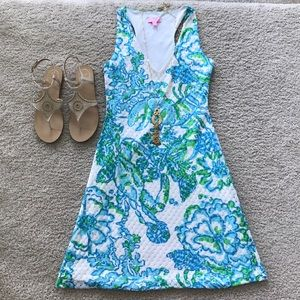 Lilly Pulitzer Crochet Overlay Dress